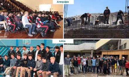 Estudiantes de colegios jesuitas de EE. UU vivieron intercambio en Lima y Arequipa
