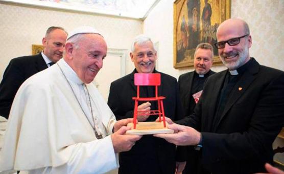 Encuentro del Papa Francisco con Fe y Alegría