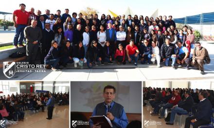 """Colegio Cristo Rey recibió taller """"Promoviendo ambientes sanos y saludables"""""""