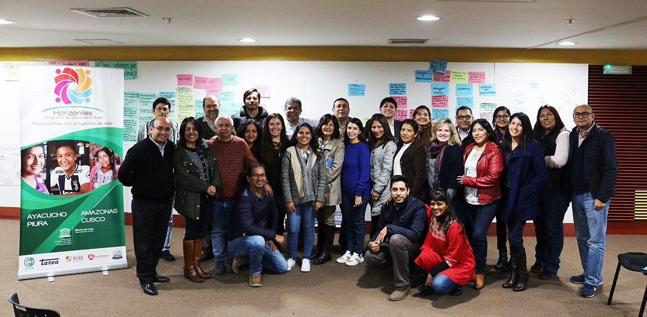 II Taller Nacional del Programa de Secundaria Rural «Horizontes»