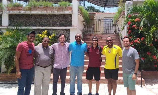 Encuentro de estudiantes jesuitas que realizan el Magisterio en la Región Caribe