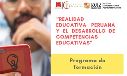 CONSIGNA organiza Programa de Formación sobre competencias educativas