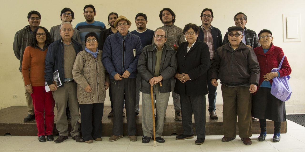 Taller participativo de Memoria comunitaria con dirigentes de El Agustino y estudiantes de la PUCP