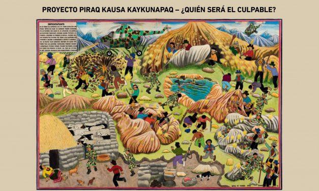 Presentación del libro «Proyecto Piraq Kausa Kaykunapaq: ¿Quién será el culpable?»