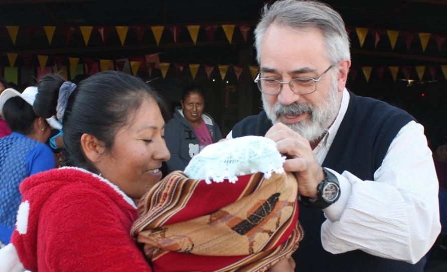 P. Claudio Paul, SJ: últimos días de su visita al Perú