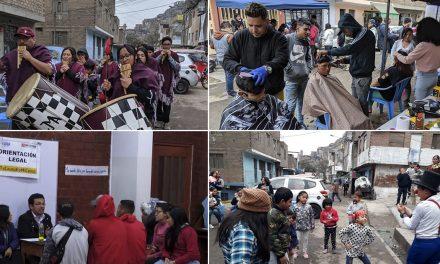 Se realizó campaña informativa y de integración Perú – Venezuela en El Agustino
