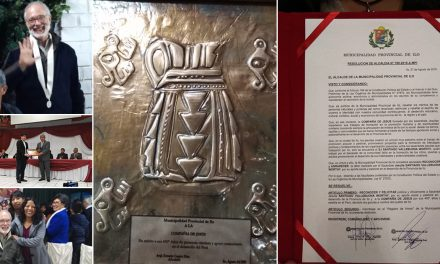 Municipalidad Provincial de Ilo entregó reconocimiento a  la Compañía de Jesús