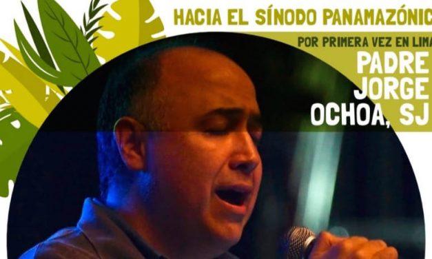 P. Jorge Ochoa SJ en Lima