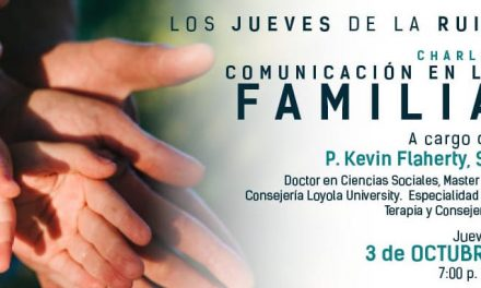 """Charla """"Comunicación en la familia""""  con P. Kevin Flaherty, SJ"""