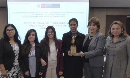 Encuentros SJS gana concurso nacional contra la violencia de género