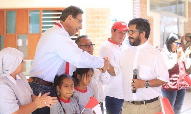 Inauguran ambientes del nivel inicial del colegio Fe y Alegría N° 81 en Paita