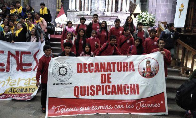 Jóvenes ignacianos de Quispicanchi participaron de Congreso Arquidiocesano