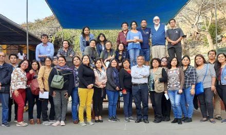 Plataforma El Agustino: curso de inducción sobre la misión jesuita