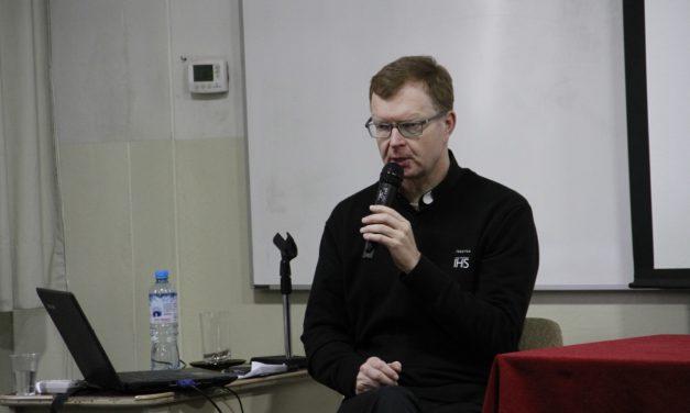 P. Hans Zollner en Lima: primeras actividades