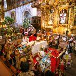 Festividad de San Sebastián en Andahuaylillas
