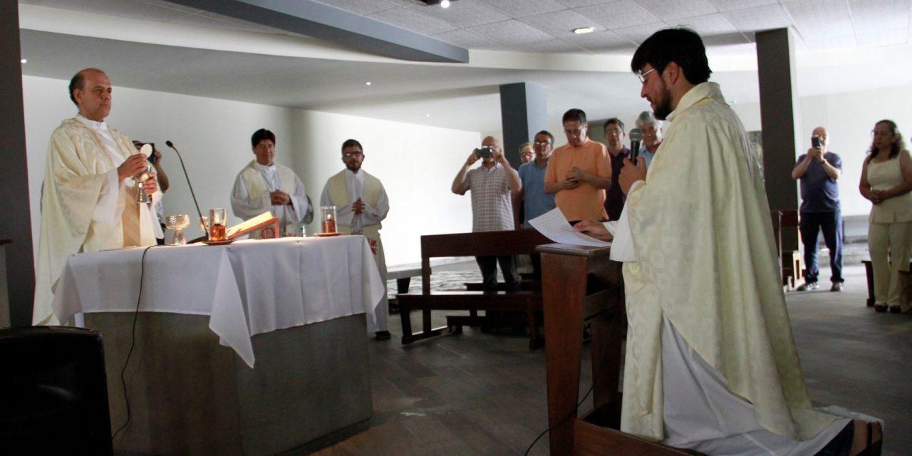 Últimos Votos del P. Paulo Valencia, SJ