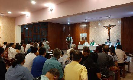 Eucaristías de envío a prenovicios de Lima y Piura
