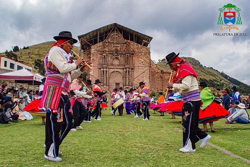 Restaurarán antiguo templo construido por la Compañía de Jesús en Juli (Puno)