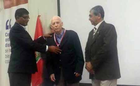 Piura: Homenaje al P. Bruno Revesz SJ