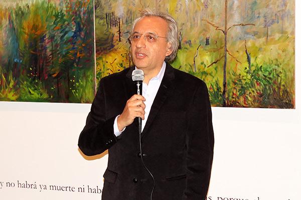 """Inauguración de la muestra """"Apocalipsis 21"""" de Francisco Navarro SJ"""