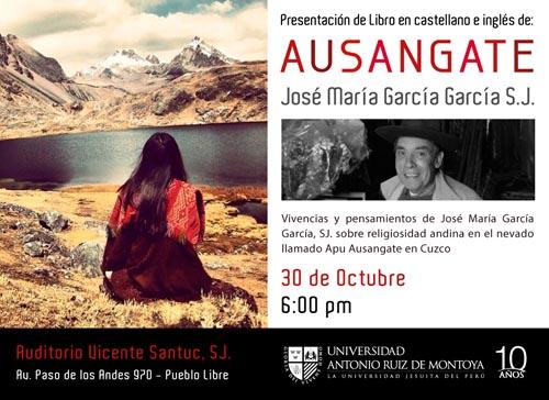 """Reedición de """"Ausangate"""" del P. José María García SJ"""