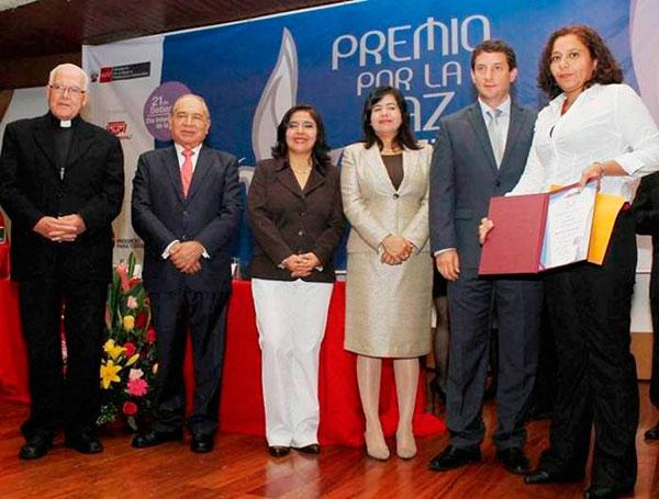 El Premio por la Paz para Radio Cutivalú de Piura