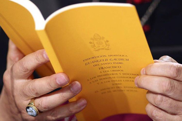 'Evangelii gaudium', la primera exhortación apostólica del papa Francisco