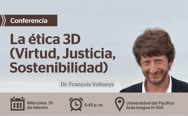 Conferencia: La ética 3D