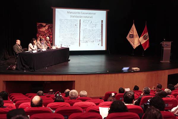 Simposio internacional sobre la Restauración Jesuita y lanzamiento de línea editorial de la Biblioteca Nacional sobre intelectuales jesuitas