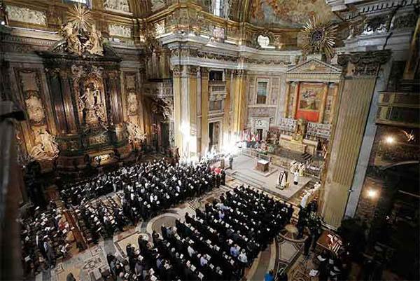 """Francisco: """"A la Compañía se le dio la gracia no sólo de creer en el Señor, sino también de sufrir por Él"""""""