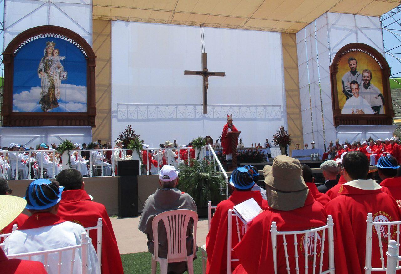 Beatificación de los mártires de Pariacoto y Santa