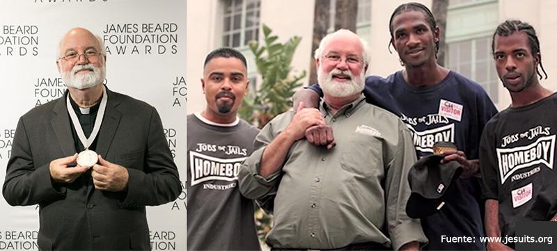 Jesuita Greg Boyle recibe premio humanitario