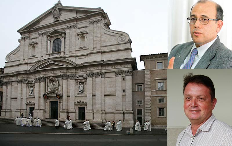 P. Provincial y elector de Perú llegan a Roma para Congregación General 36