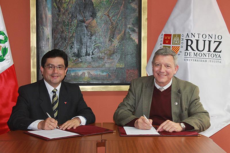Asociación Cristiana de Jóvenes del Perú y U. Ruiz de Montoya suscriben convenio de cooperación
