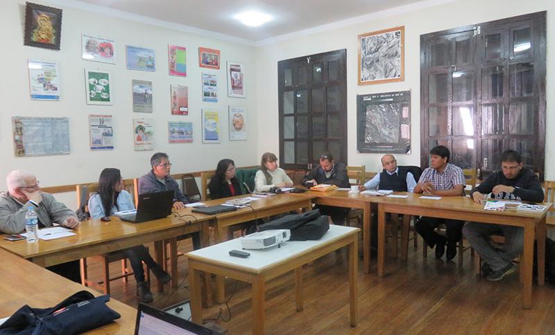 Reunión Plataforma Cusco