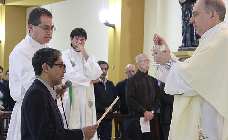 Últimos Votos Hno. Alfredo Mejía, SJ