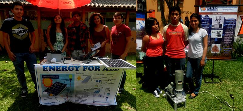 Feria de Innovación Tecnológica en la U. Ruiz de Montoya