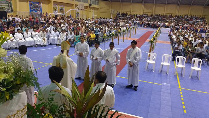 Vicariato de Jaén: Ordenaciones Presbiterales