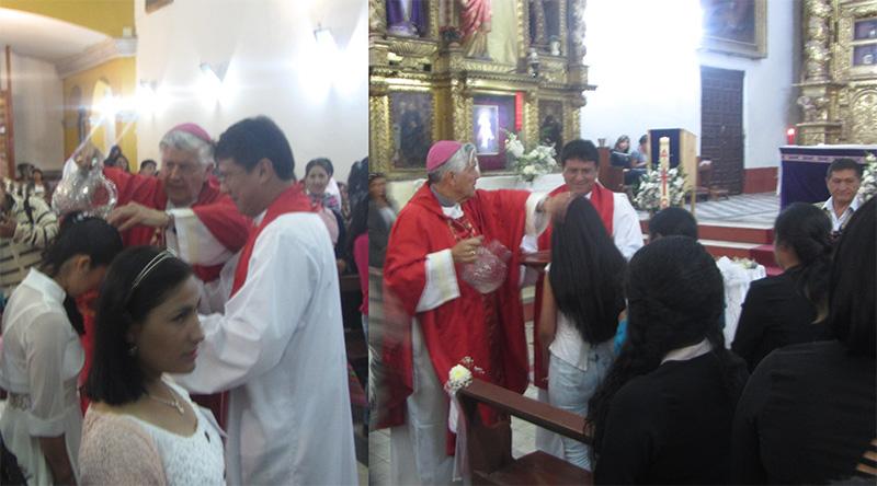 Huamanga: Sacramentos de iniciación en Templo de la Compañía