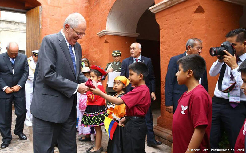Fe y Alegría en Gabinete Binacional Perú-Colombia