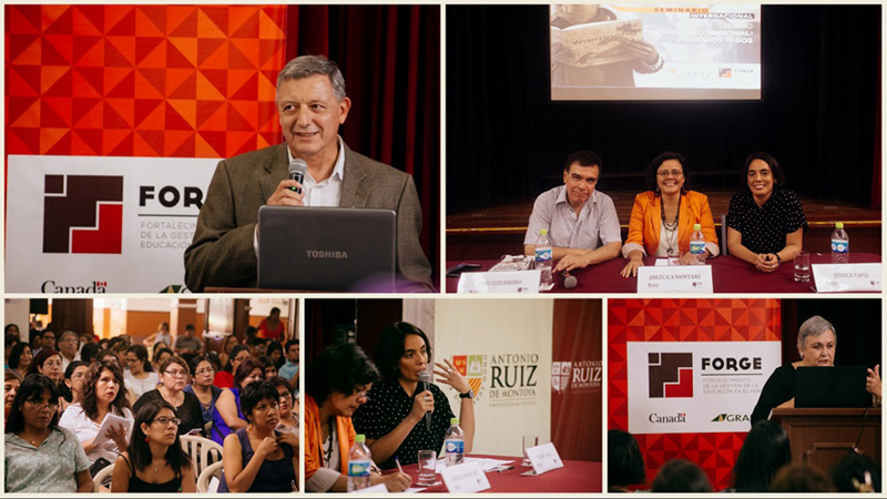 U. Ruiz de Montoya – Seminario sobre Curriculum Nacional
