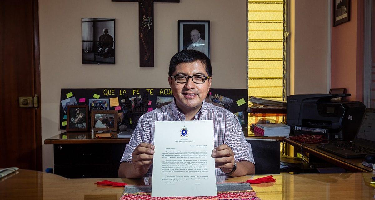 Carta de Francisco al P. Juan Bytton SJ sobre situación de la pastoral universitaria