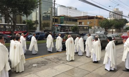 Despedida al P. Francisco de la Aldea SJ