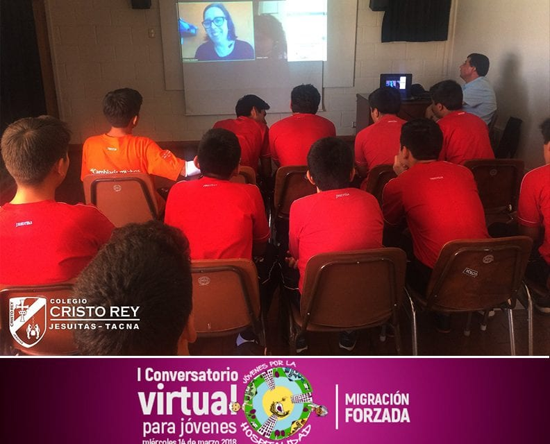 Colegio Cristo Rey participó de Conservatorio Virtual sobre Migración Forzada