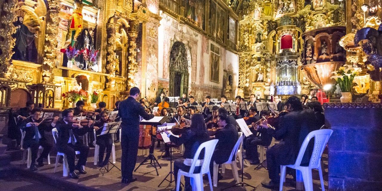 Orquesta Sinfónica del Cusco en Andahuaylillas