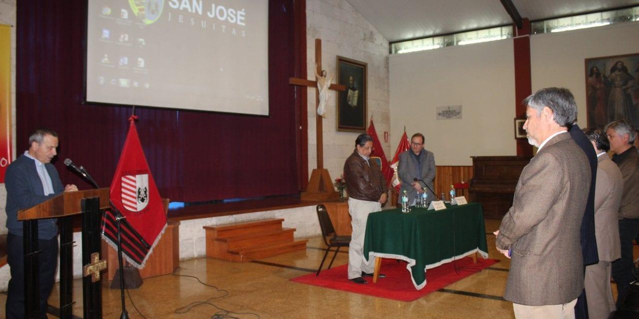 Arequipa: Se presentó nuevo libro sobre el Colegio San José