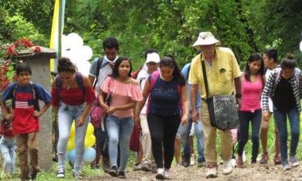 Peregrinación juvenil por 450 años del nacimiento de San Luis Gonzaga