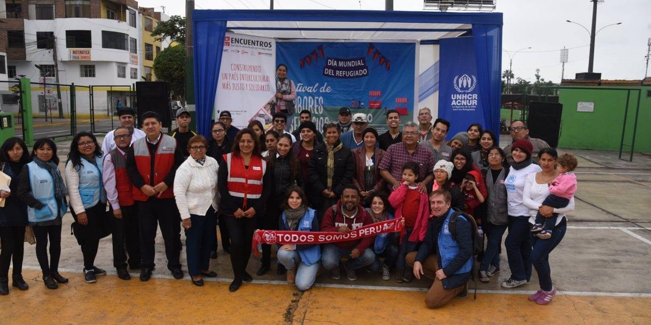 Actividades por el Día Mundial del Refugiado