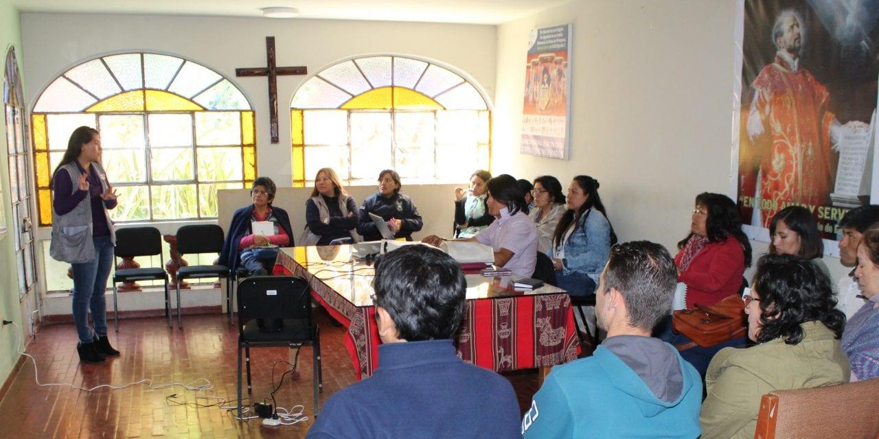 Encuentros SJS y Centro Loyola Ayacucho responden a la emergencia migratoria