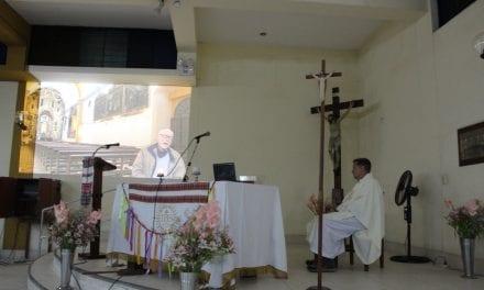 Eucaristía por los 50 años de vida sacerdotal del P. Francisco Chamberlain SJ